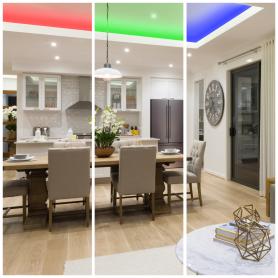 Комплект подсветки контурной 3 м, свет RGB