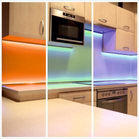 Комплект подсветки рабочей зоны 2 м, свет RGBW