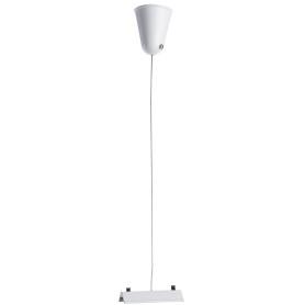 Кронштейн-подвес для трекового шинопровода 1 м, цвет белый