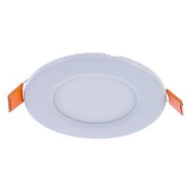 Светильник светодиодный встраиваемый круглый 3 Вт, диаметр 8.5 см, свет холодный белый