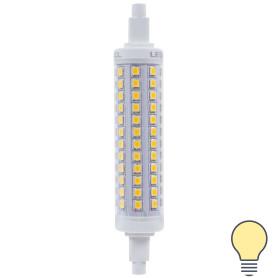 Лампа светодиодная Uniel R7s 220 В 12 Вт линейная 1100 лм, тёплый белый свет