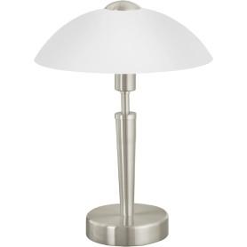 Настольная лампа Eglo «Solo 1» с сенсором 1xE14x60 Вт, цвет никель