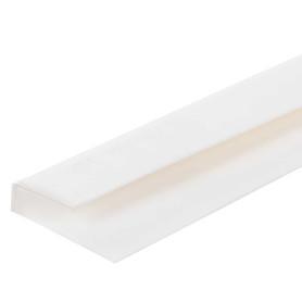 Профиль ПВХ стартовый для панелей 5 мм, 3000 мм, цвет белый