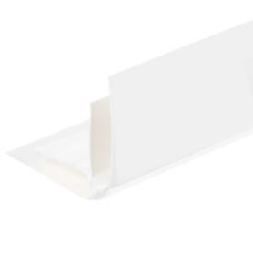 Угол ПВХ внутренний для панелей 5 мм, 3000 мм, цвет белый