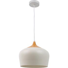 Светильник подвесной Inspire «Fresno» 3 м2 цвет белый