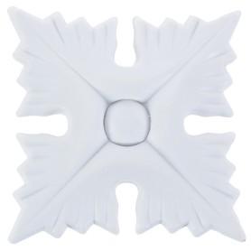 Декор для мебели «Розетка 601», 48x48x9 мм