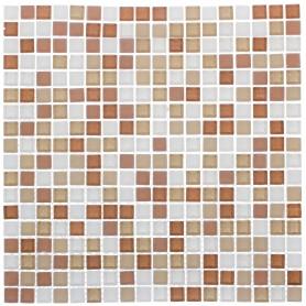 Мозаика Artens «Tonic», 30х30 см, стекло, цвет бежевый