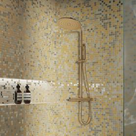 Мозаика Artens «Gold», 30х30 см, стекло, цвет желтый