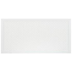 Экран для радиатора Дамаско 120х60 см, цвет белый