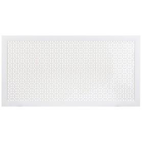 Экран для радиатора Сусанна 120х60 см, цвет белый