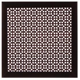 Экран для радиатора Сусанна 60х60 см, цвет венге