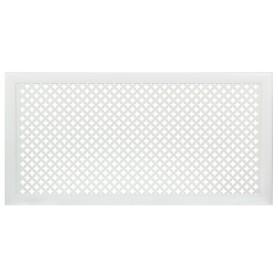 Экран для радиатора Готико 120х60 см, цвет белый