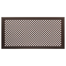 Экран для радиатора Готико 120х60 см, цвет венге