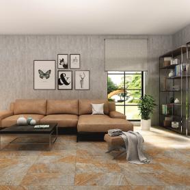 Керамогранит «Бергамо», 30х60 см, 1.62 м2, цвет серо-бежевый