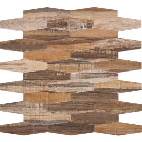 Мозаика Artens Wood 25.2х27.8 см