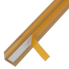 Уголок QuickStick 20x20x1x2000 мм, алюминий, цвет золото
