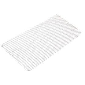 Лист декоративный ПВЛ TR10 0.8х500х1000 мм, алюминий