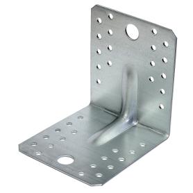 Уголок крепежный усиленный 105х90х105х2 мм