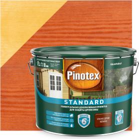 Антисептик Pinotex Standard цвет красное дерево 9 л