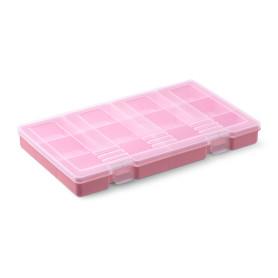Органайзер Фолди 31x19x3.6 см, цвет розовый
