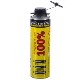 Очиститель монтажной пены Ремонт на 100% 500 мл
