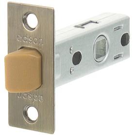 Защёлка межкомнатная EDS-6-45, пластик, цвет бронза