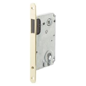 Защёлка под цилиндр магнитная EDS-50-85 KEY, с ключом, цвет золото