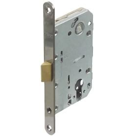 Защёлка под цилиндр EDS-50-85 KEY, с ключом, пластик, цвет графит