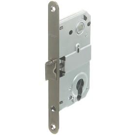 Защёлка под цилиндр EDS-50-85 KEY, с ключом, металл, цвет бронза