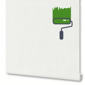 Обои на флизелиновой основе под покраску «Линии» ЭР2839-1, 1.06х10 м, цвет белый