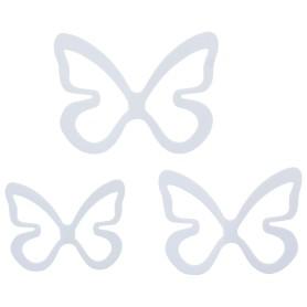 Декор для стен «Бабочки», цвет белый
