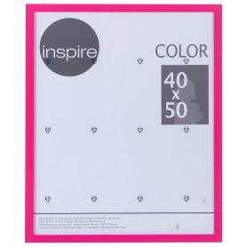 Рамка Inspire «Color», 40х50 см, цвет фуксия