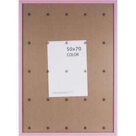 Рамка Inspire «Color», 50х70 см, цвет розовый