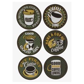 Наклейка «Время кофе» Декоретто