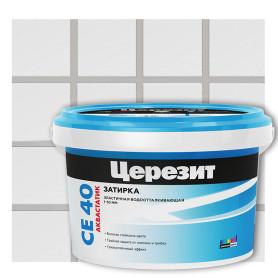 Затирка цементная Ceresit CE 40, цвет манхеттен