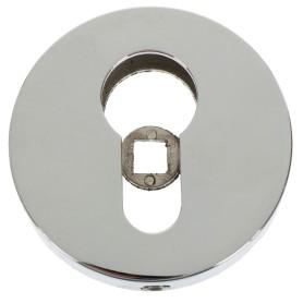 Накладка под цилиндр ET URB/HD CP-8, цвет хром, 2 шт.