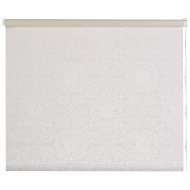 Штора рулонная «Мандала» 60х170 см цвет молочный