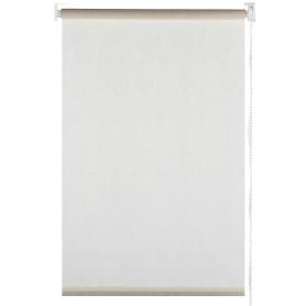 Штора рулонная «Мандала» 100х170 см цвет молочный