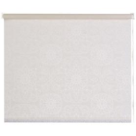 Штора рулонная «Мандала» 120х170 см цвет молочный