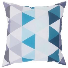 Подушка декоративная «Охара» 40х40 см цвет бирюзовый