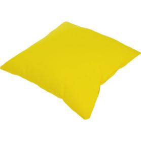 Подушка декоративная «Радуга» 40х40 см цвет жёлтый
