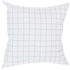 Подушка декоративная «Клетка» 40х40 см