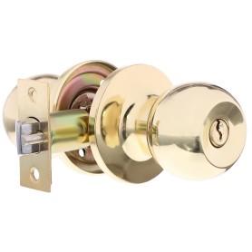 Ручка-кноб 3087, с ключами, цвет золото