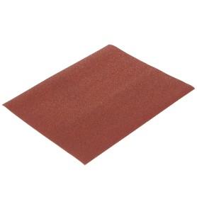 Лист шлифовальный Dexter P80, 230x280 мм, бумага