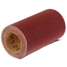 Рулон шлифовальный Dexter P120, 93х2500 мм, бумага