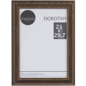 """Рамка Inspire """"Dorothy"""" цвет коричневый размер 21х29,7"""