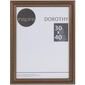 """Рамка Inspire """"Dorothy"""" цвет коричневый размер 30х40"""