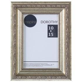 """Рамка Inspire """"Dorothy"""" цвет серебряный размер 10х15"""