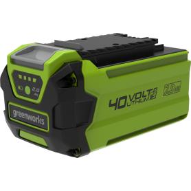Аккумулятор GreenWorks 40В 2 Ah Li для газонокосилок
