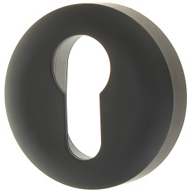Накладка дверная Фабрика замков P 1 ET, цвет матовый чёрный